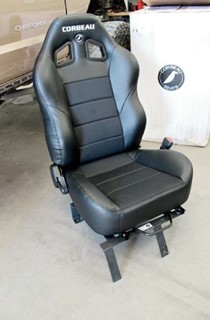 Picture of Corbeau Seat Baja XRS - Black Vinyl+Cloth