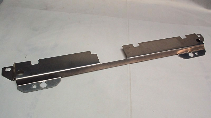 Picture of Radiator Support Cover Panel FITS OEM and 3SX SINGLE PASS RADIATOR - Brushed Stainless