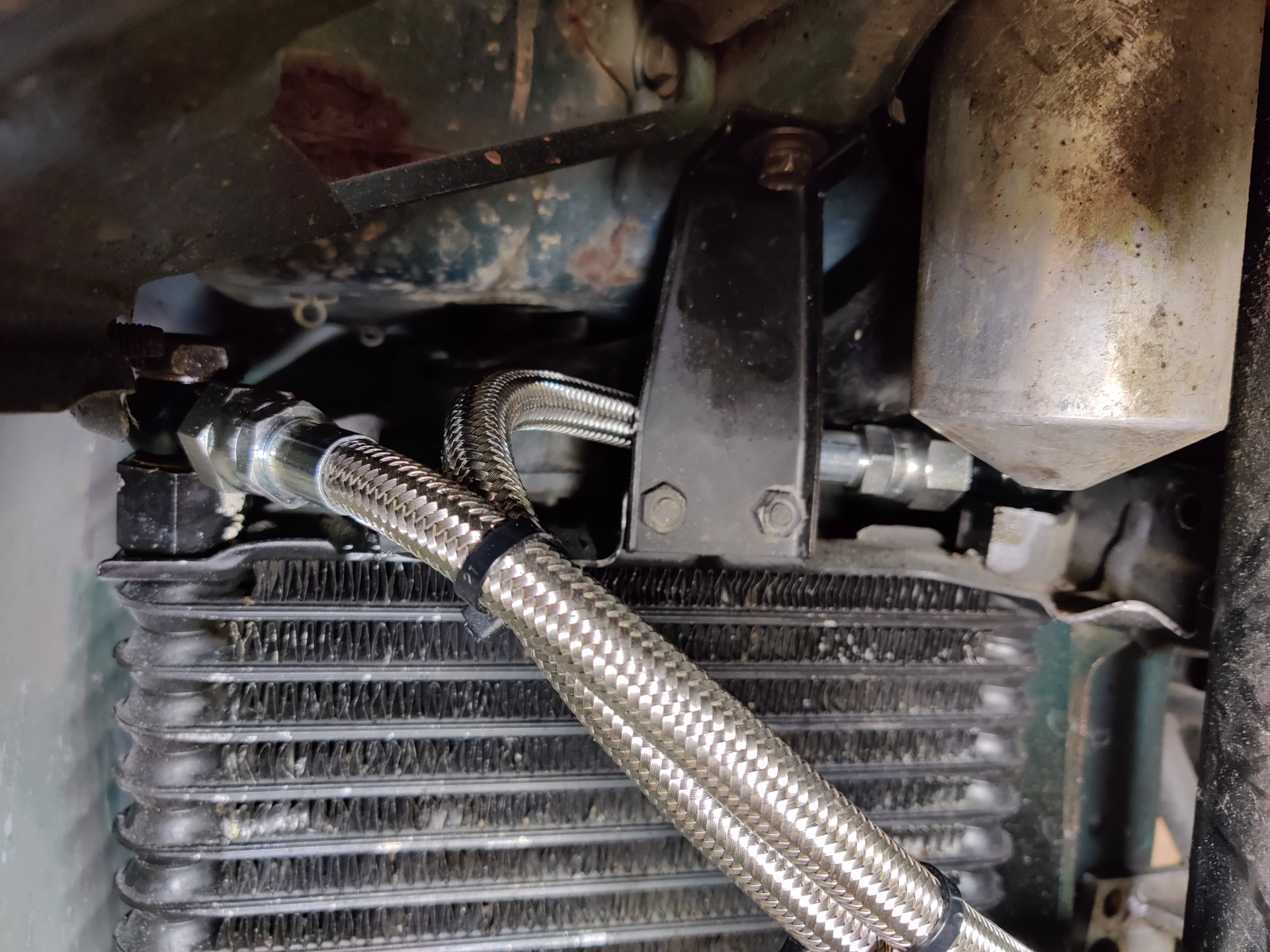 Picture of OEM Replacement Braided Stainless Oil Cooler Lines
