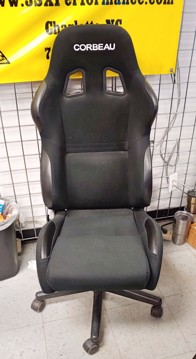 Picture of Clearance: Corbeau Gaming/Office Seat, New Display Seats - A4 Black