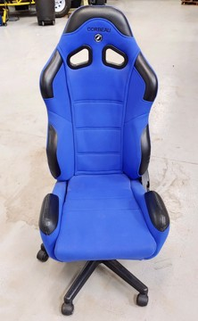 Picture of Clearance: Corbeau Gaming/Office Seat, New Display Seats - CR1 Blue