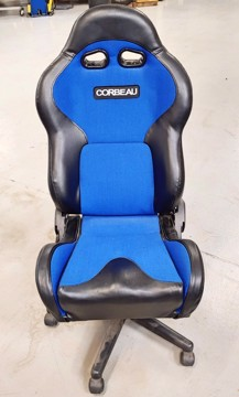 Picture of Clearance: Corbeau Gaming/Office Seat - VX2000 Blu/Blk